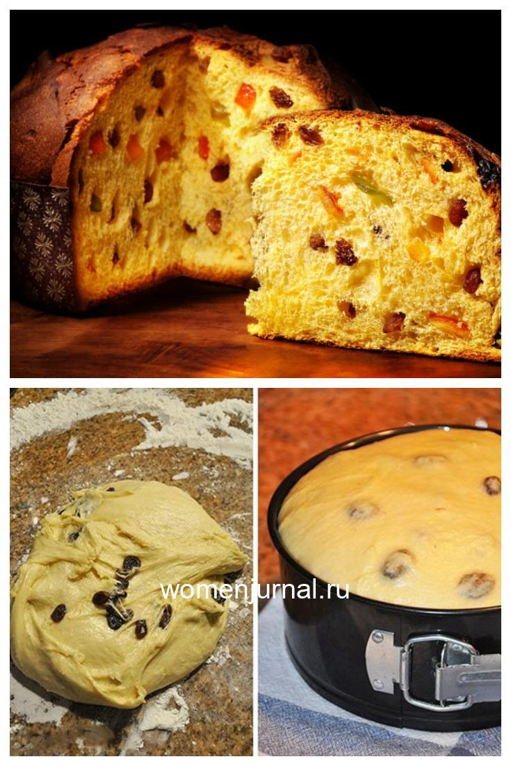 Пасхальный кекс «Панеттоне» из Италии.